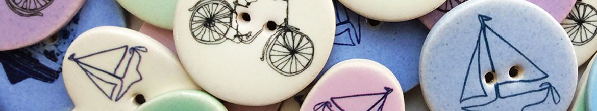 Bike Amp Boat Buttons Stockwell Ceramics
