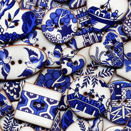 Stockwell Ceramics Buttons Jewellery And Decorations