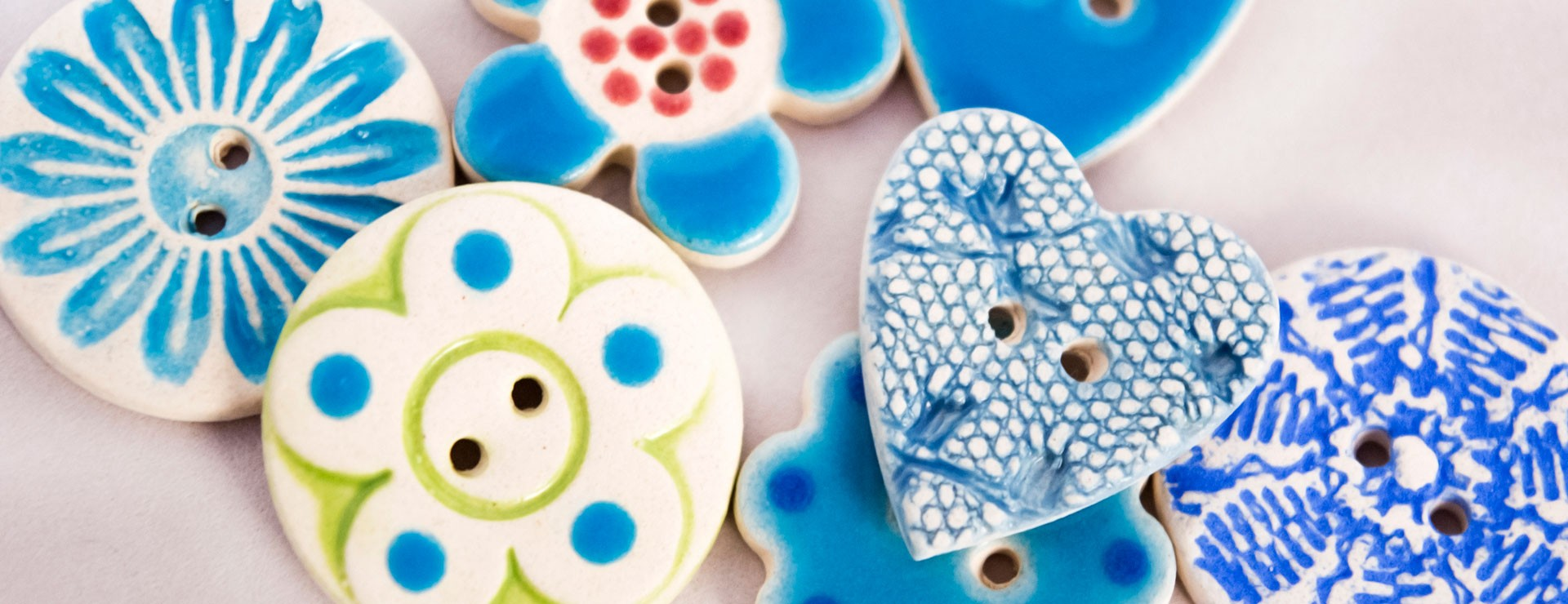 Browse Our Bright Buttons Bursting With Colour