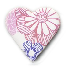 Floral Brooches Stockwell Ceramics