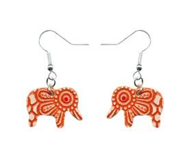 Indian Inspired Earrings Stockwell Ceramics